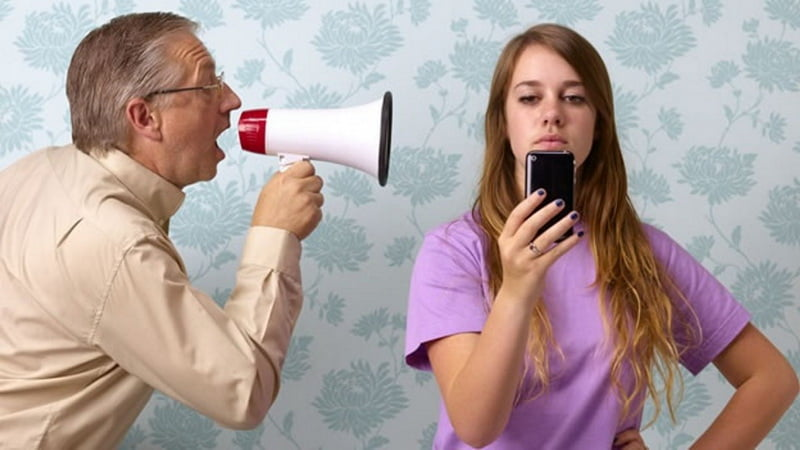 Подростки не слышат родителей