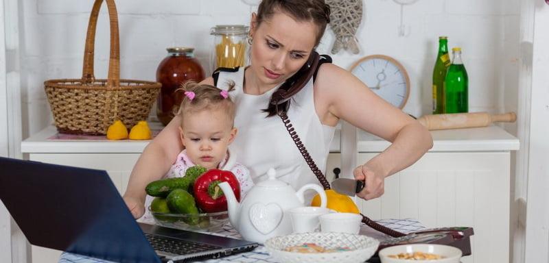 Работающая мама