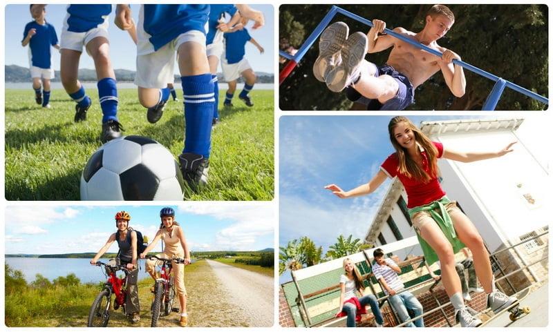 Физическое воспитание подростков