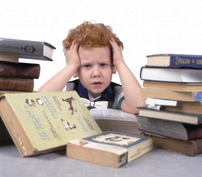 Ребенок не успевает учиться