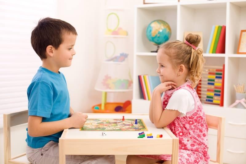 Дети 6 лет играют