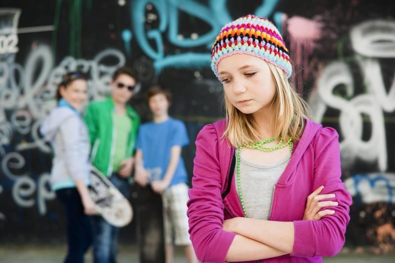 Одиночество у девочки переходного возраста