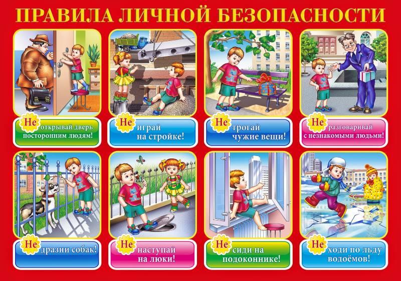 Детям про безопасность