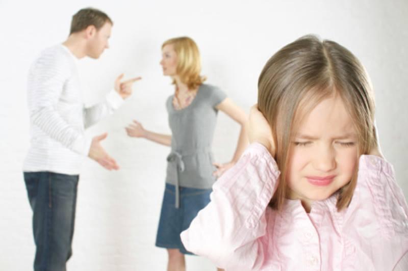 Ребенок не хочет слышать ссору родителей