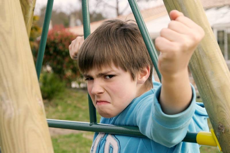 Агрессивный школьник