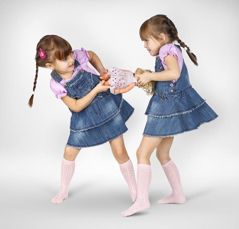 Конфликтное поведение девочек
