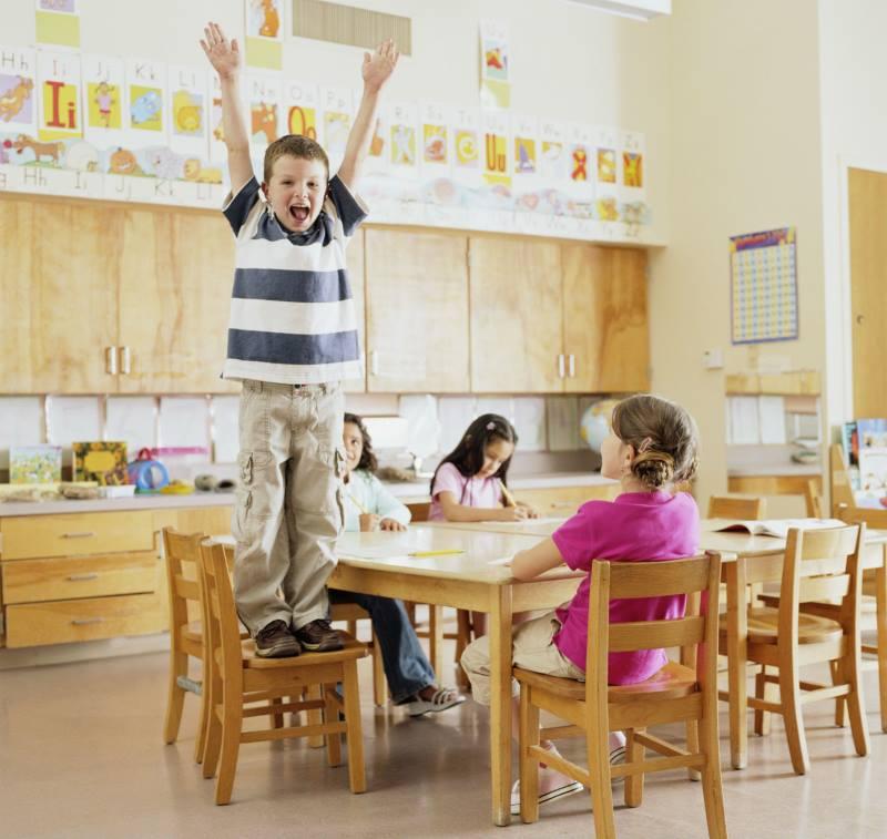 Гиперактивность у детей школьного возраста