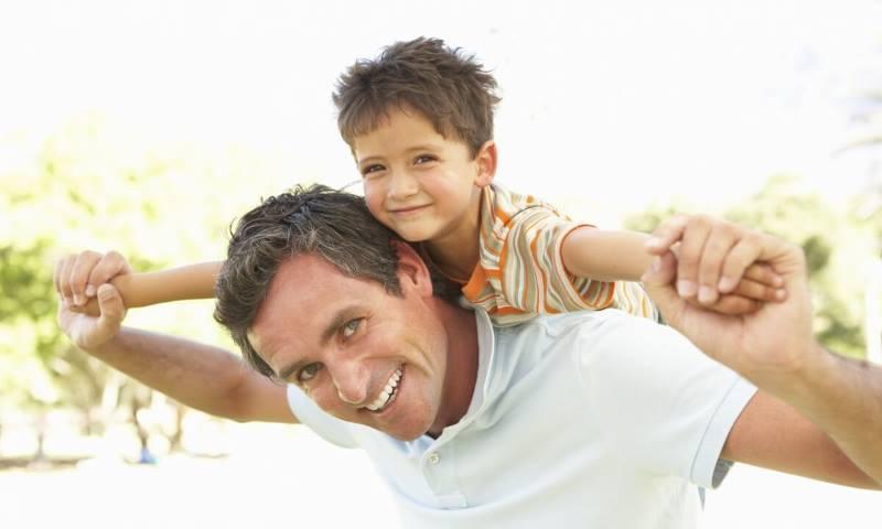 Отец в воспитании сына