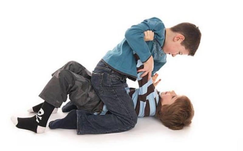 Конфликт у мальчиков