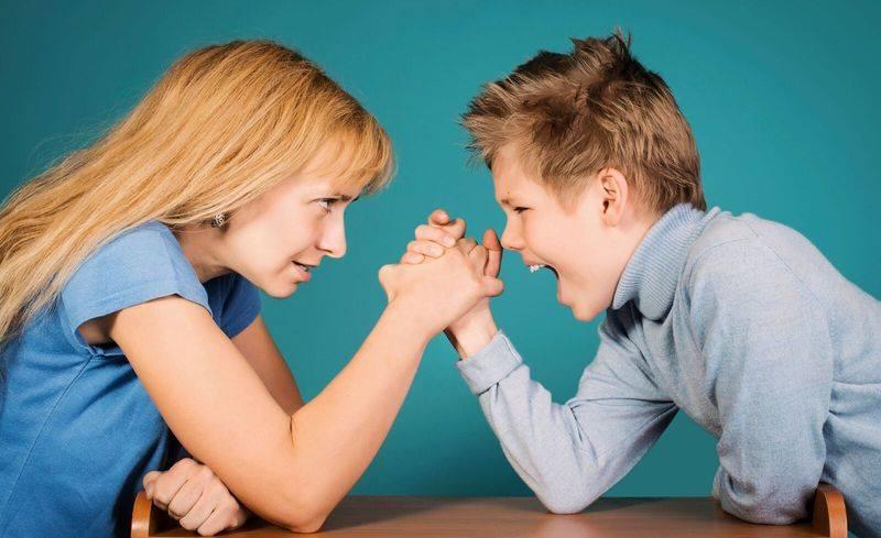 Бесконфликтное общение матери и ребенка