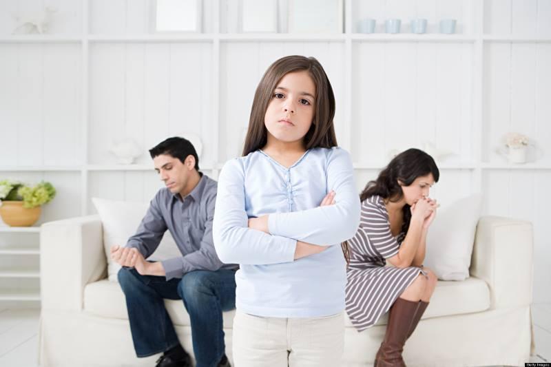 Конфликт родителей и ребенка