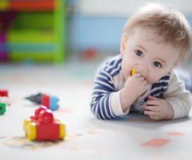 Развитие маленького ребенка