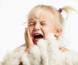 Ребенок в истерике