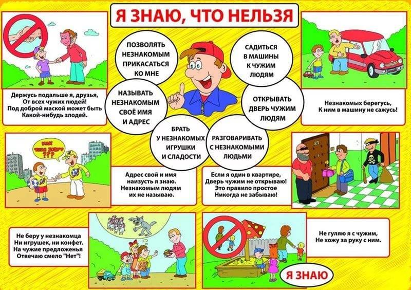 Правила безопасного поведения на улице для детец