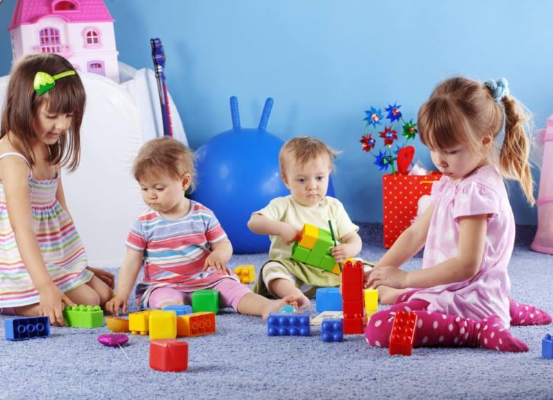 Развитие ребенка в детском учреждении