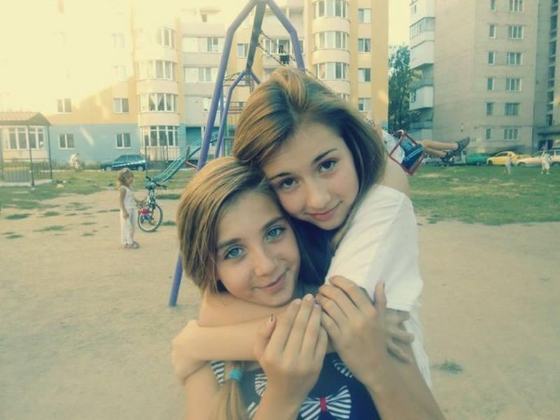 Девочки 13 лет