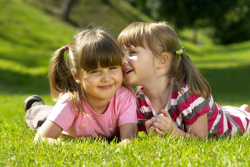 Дружба девочек 5 лет