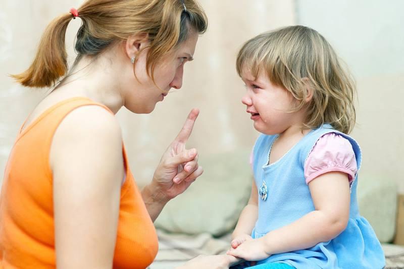Ребенок дерется с родителями