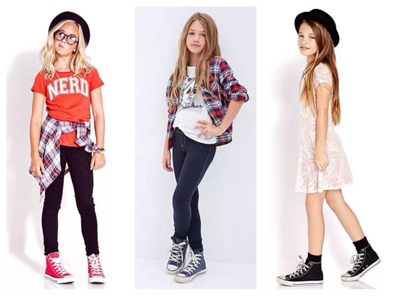 Стиль одежды девочек