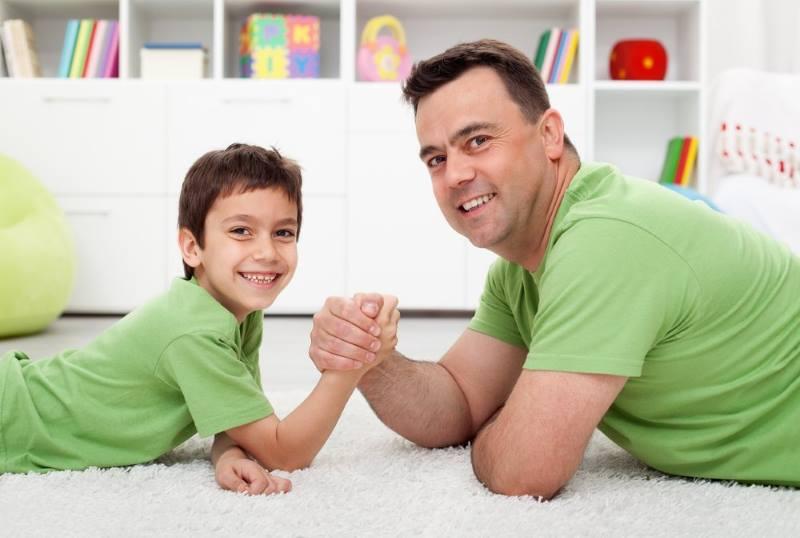 Воспитание отца