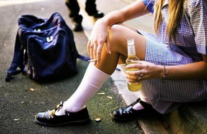 Вредные привычки подростка